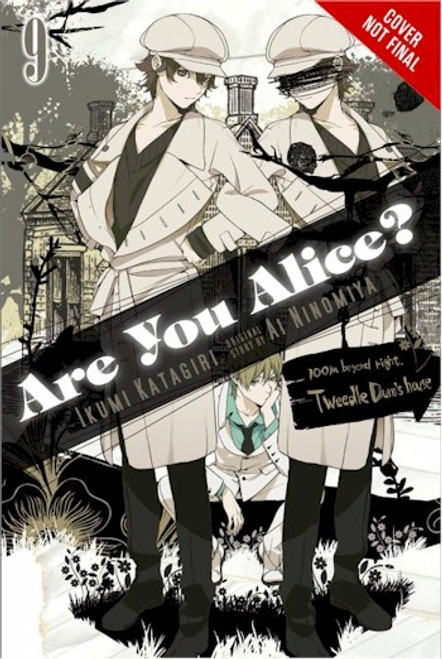Are You Alice? Graphic Novel 09