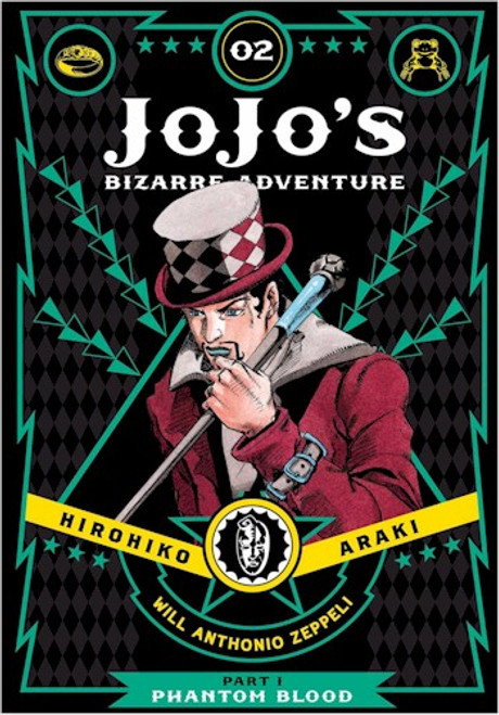 JoJo's Bizarre Adventure Part 1 Phantom Blood 02 (HC)