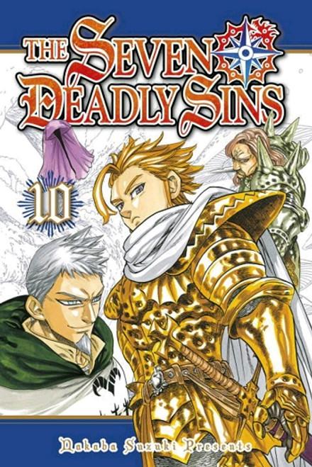 Seven Deadly Sins Graphic Novel Vol. 10