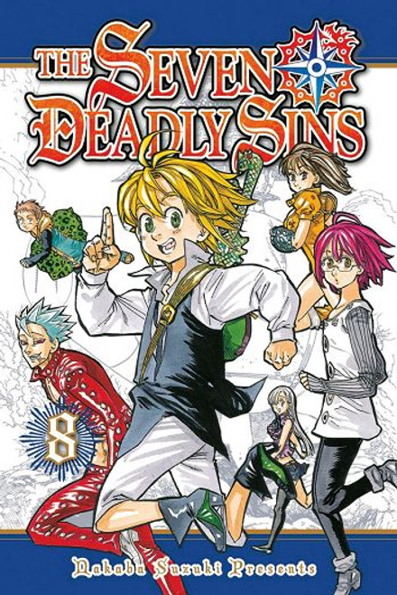 Seven Deadly Sins Graphic Novel Vol. 08