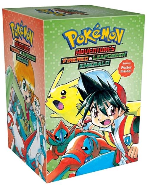 Pokemon Adventures Box Set 4 Fire Red & Leaf Green / Emerald