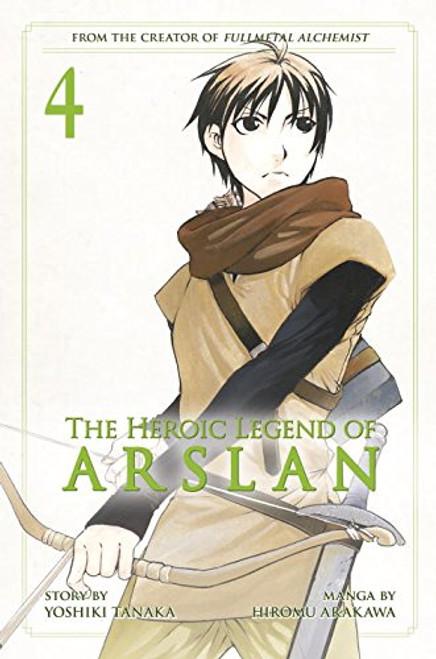 Heroic Legend of Arslan Graphic Novel 04