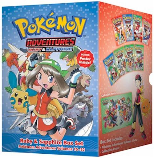 Pokemon Adventures Box Set 3 Ruby & Sapphire