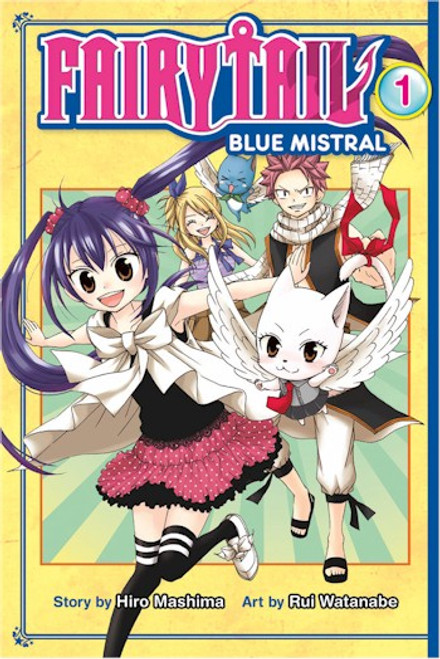 Fairy Tail: Blue Mistral Graphic Novel 01