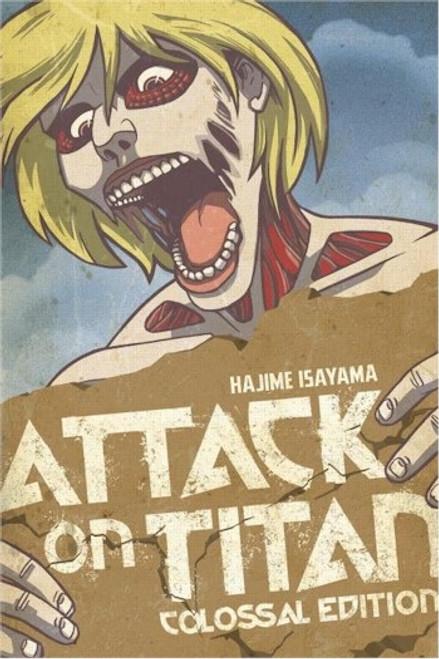 Attack on Titan Colossal Edition Vol. 2