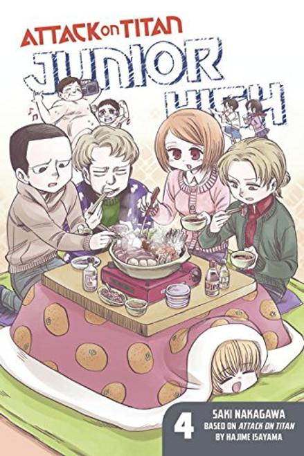 Attack on Titan - Junior High Graphic Novel 04
