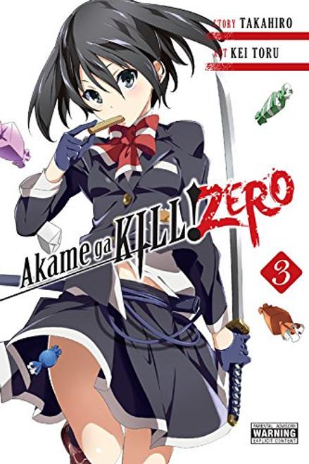 Akame ga KILL! ZERO Graphic Novel 03