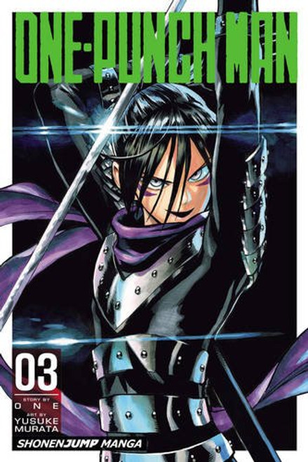 One-Punch Man Graphic Novel 03