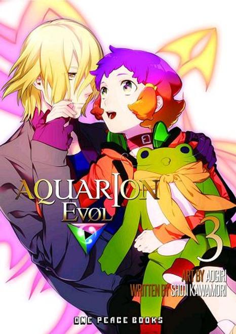 Aquarion Evol Graphic Novel 03