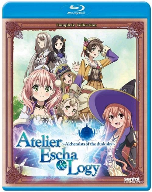 Atelier Escha & Logy: Alchemists of the Dusk Sky Blu-ray