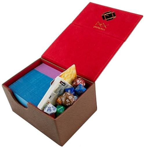 Dex Protection Medium Deckbox (Brown)