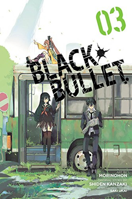 Black Bullet Graphic Novel 03