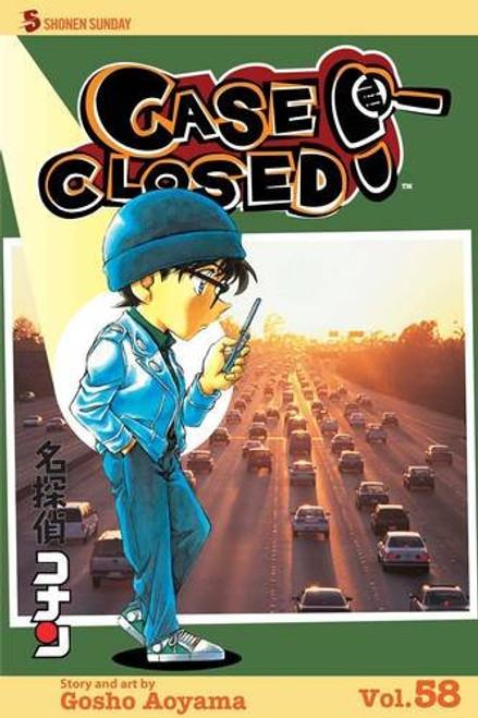 Case Closed Graphic Novel Vol. 58