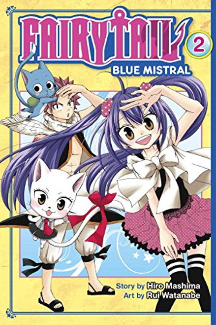 Fairy Tail: Blue Mistral Graphic Novel 02