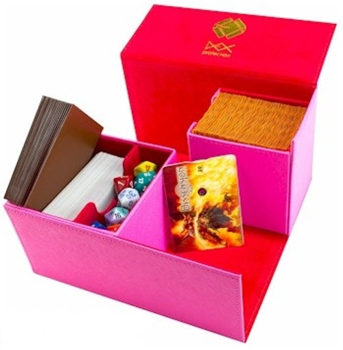 Dex Protection Large Deckbox (Pink)