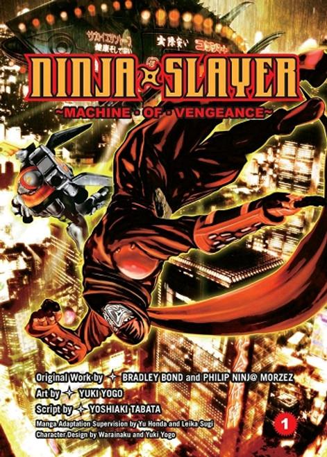 Ninja Slayer Graphic Novel Vol. 01 Machine of Vengeance