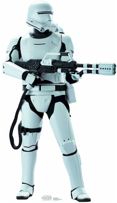 Star Wars E7 Star Wars VII Life-size Standup - Flametrooper