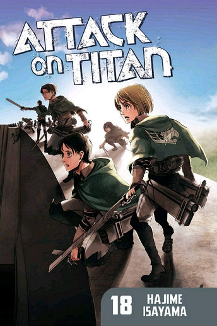 Attack on Titan Graphic Novel 18