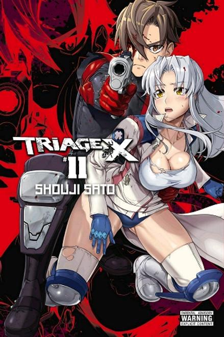 Triage X Graphic Novel 11