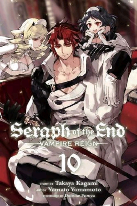 Seraph of the End Graphic Novel Vol. 10