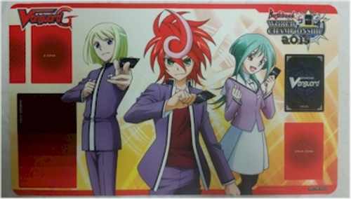 Cardfight Vanguard G Play Mat - World Championship 2015