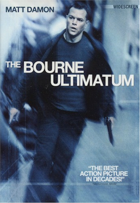 Bourne Ultimatum Live Action DVD