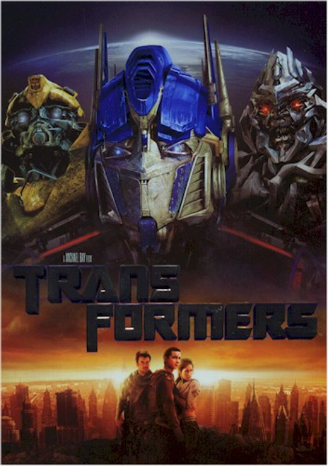 Transformers The Movie DVD Live Action