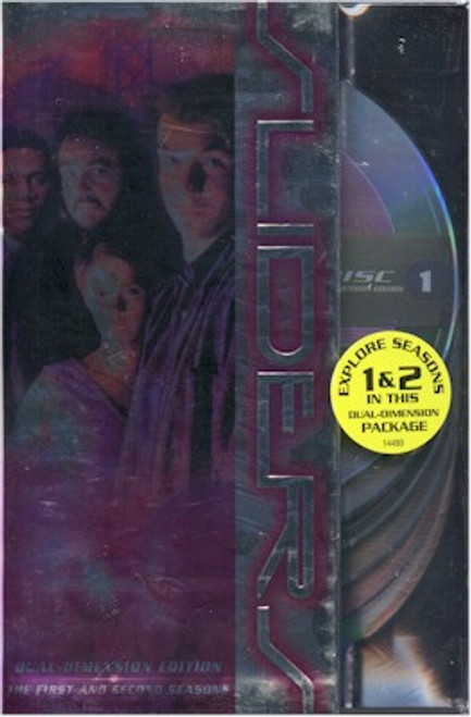 Sliders DVD First & Second Seasons Box Set (Live)