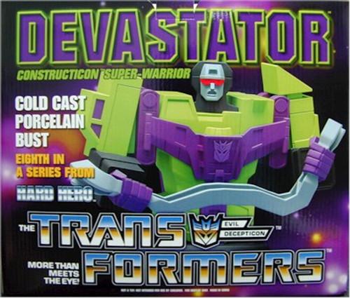 Transformers Devastator Bust Statue