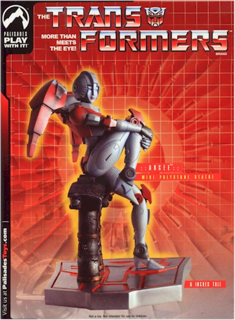 Transformers Arcee Mini Polystone Statue