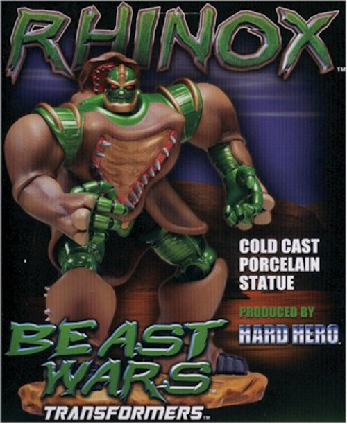 Beast Wars : Rhinox Statue