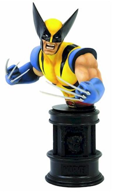 Marvel X-Men Wolverine Yellow Fine Art Bust Statue