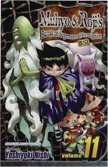 Muhyo & Roji's Bureau of Supernatural Investigation GN 11