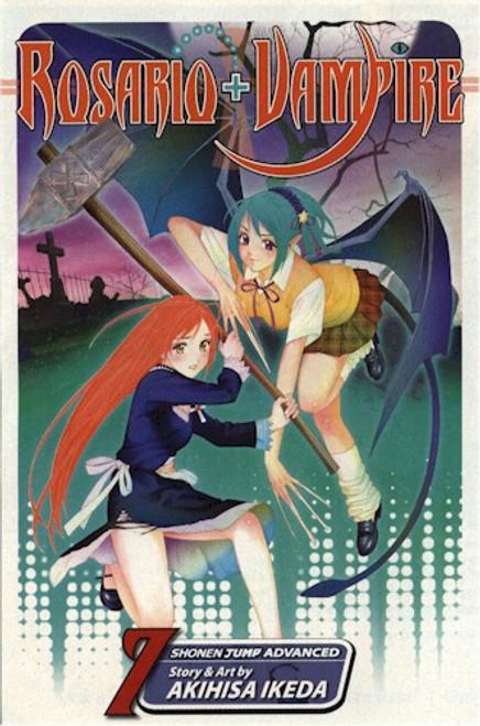 Rosario+Vampire Graphic Novel 07