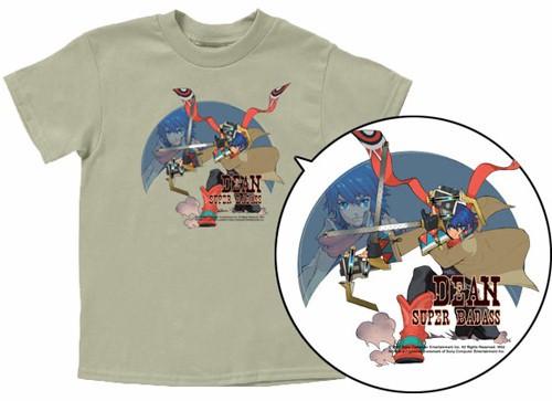 Wild Arms 5 T-Shirt: Dean (Grey)