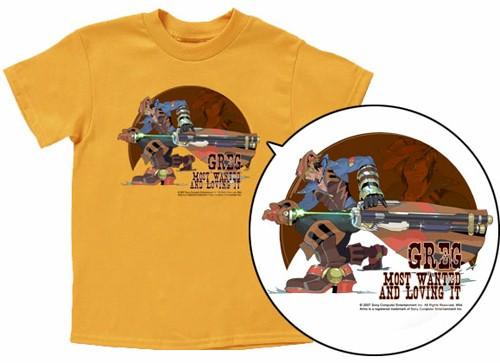 Wild Arms 5 T-Shirt: Greg (Yellow)