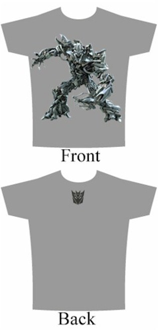 Transformers T-Shirt Movie Megatron (Grey)