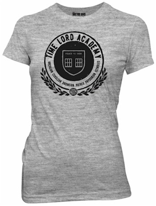 Doctor Who Babydoll Time Lord Academy (Grey)