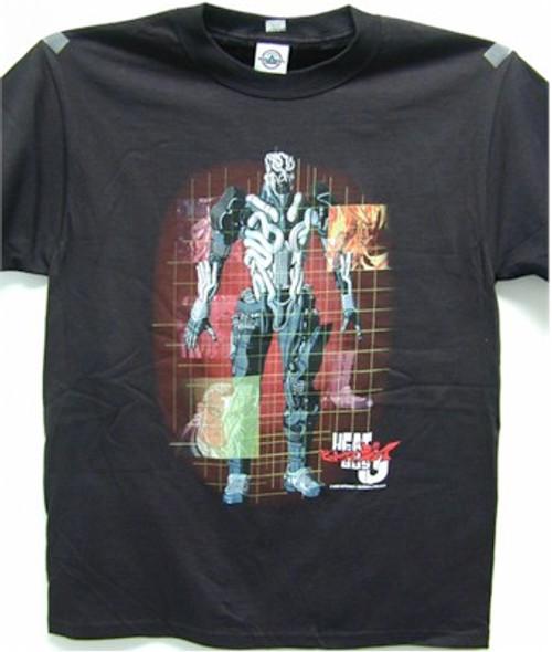 Heat Guy J - Grid T-Shirt #2970 (Black)