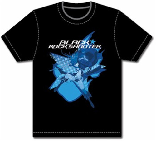 Black Rock Shooter T-Shirt - BRS2035 (Black)