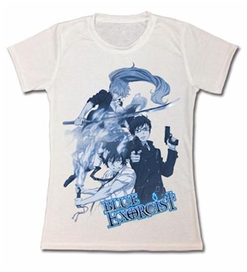 Blue Exorcist Babydoll T-Shirt - Rin, Yukio & Shura