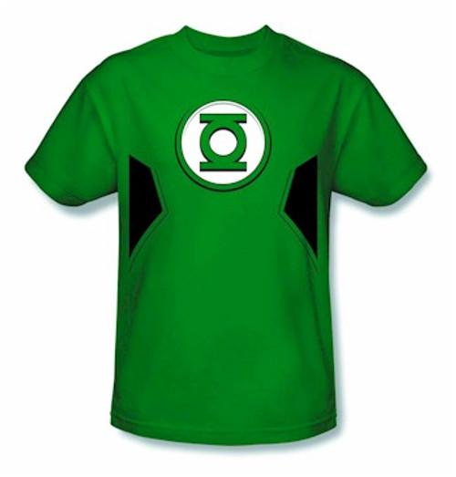 Green Lantern New 52 Costume T-Shirt (Green)