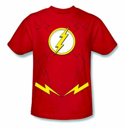 Flash New 52 Costume T-Shirt (Red)