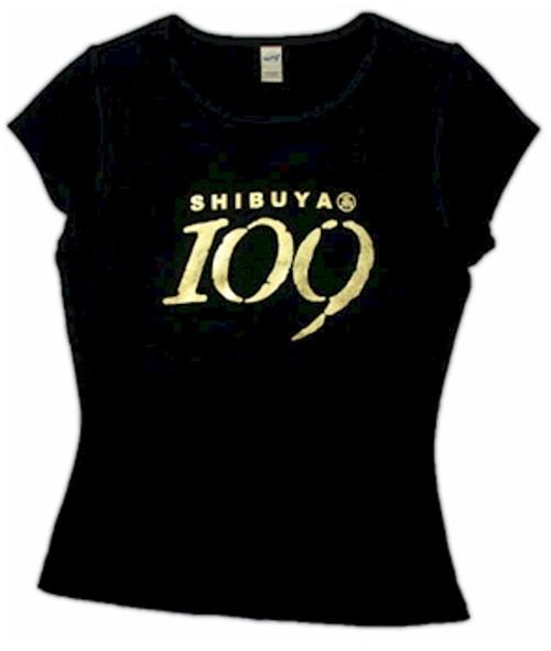 Shibuya 109 Babydoll T-Shirt (Black)