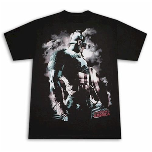 Marvel Comics T-Shirt Captain America 1st World War (Black)