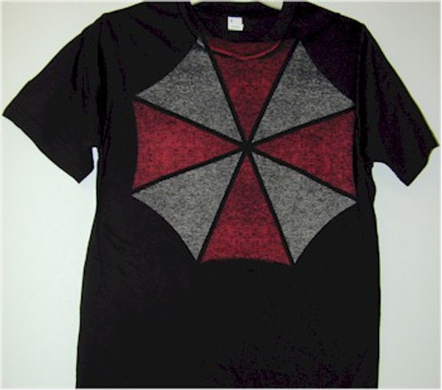Resident Evil T-Shirt Large Umbrella Logo (Black)