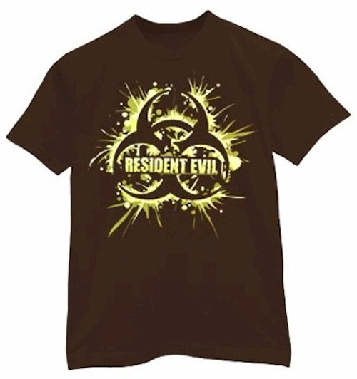 Resident Evil T-Shirt Biohazard (Brown)