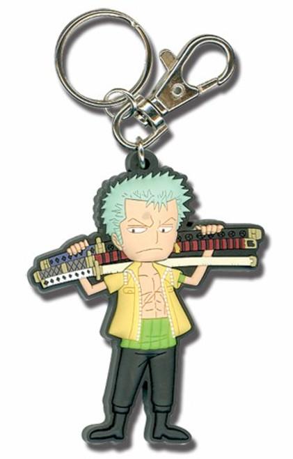 One Piece Keychain - SD Zoro with Sword