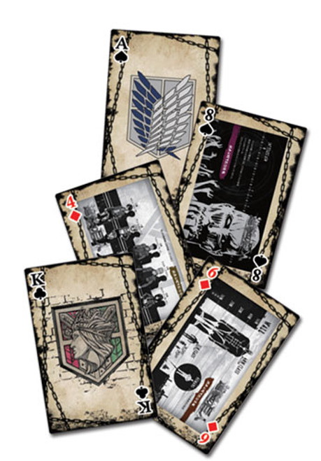Attack on Titan Playing Cards #2