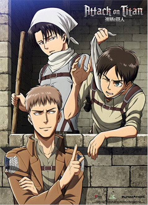 Attack on Titan Wallscroll - Clean Up Room